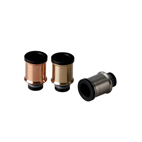 Cauldron Style Stainless Steel / Brass / Copper & Delrin Wide Bore Drip Tips (SS037)