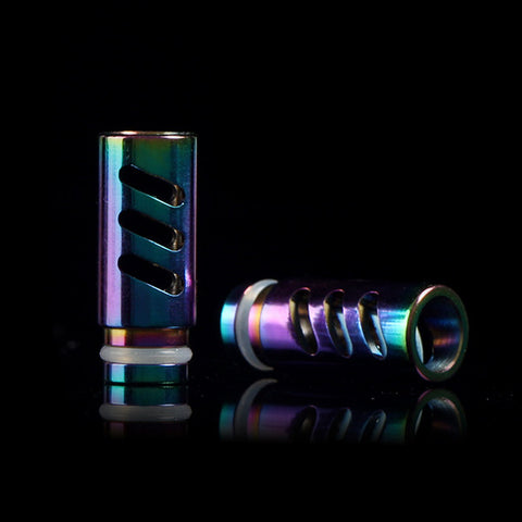 Hollowed Rainbow Coloured Drip Tip (RAINBOW001)