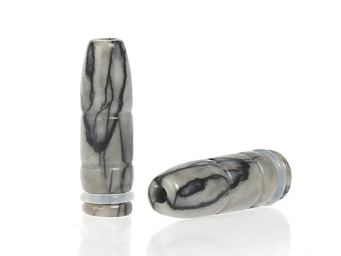 Natural Jade Bullet Style Drip Tips (JADE003)
