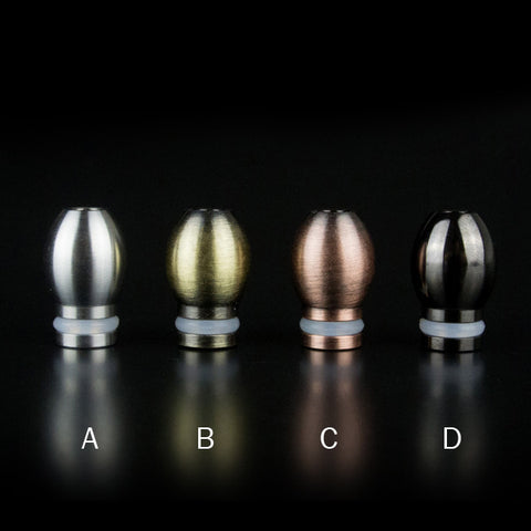 Mini Spherical Stainless Steel Drip Tips (SS046)