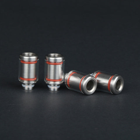 Glass & Stainless Steel Wide Bore Drip Tip - Perfect Match For Kanger Subtank (SS048)