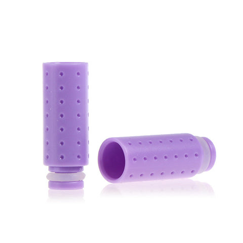 Plastic Dimpled Design Wide Bore Drip Tips (PLA005)