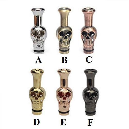 Metal Mini Skull Drip Tips (SS035)