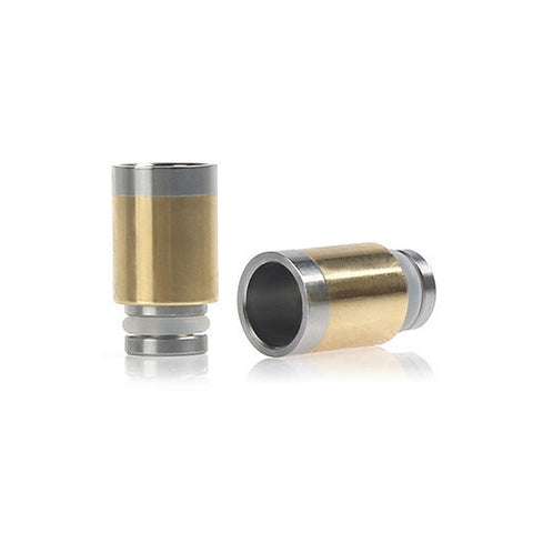 Stainless Steel & Brass Wide Bore Drip Tip (BR001)