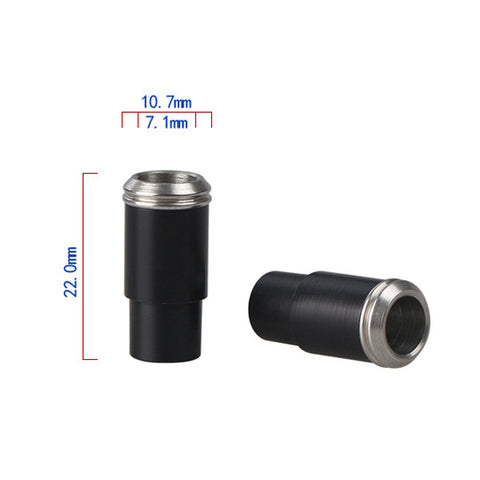 Stainless Steel & Delrin Friction Fit Drip Tip (DEL008)