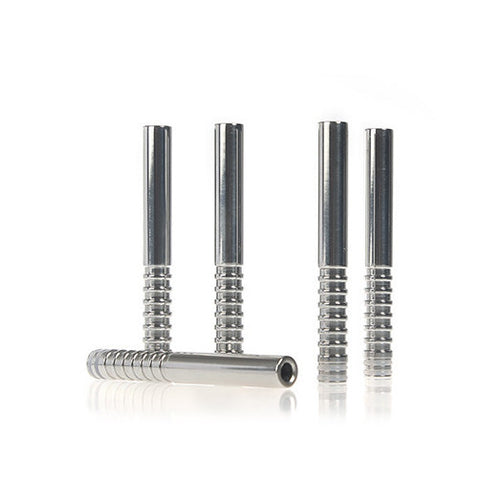 Extra Long Spiral Style Stainless Steel Drip Tip (XL003)