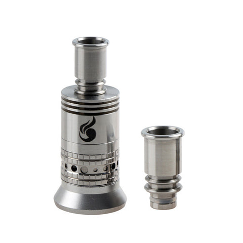 Stainless Steel Flared Twin Ring Drip Tip (SS029)