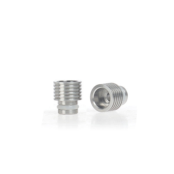 Shorty Ring Design Wide Bore Stainless Steel Drip Tip (SS006)