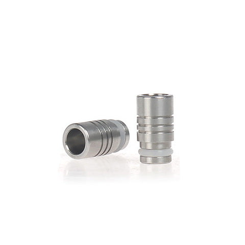 Triple Ring Design Wide Bore Stainless Steel Drip Tip (SS007)