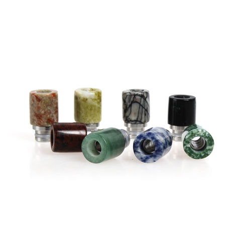 Stone & Stainless Steel Stubby Drip Tips (CER006)