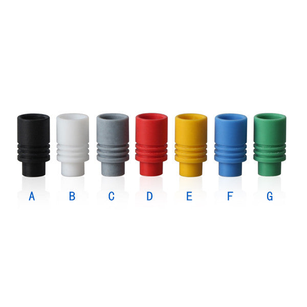 PTFE Friction Fit Wide Bore Drip Tips (TEF001)