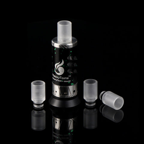Short Transparent Acrylic Wide Bore Drip Tip (ACR002)