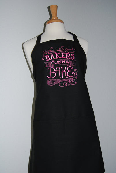 Embroidered Baker Gonna Bake Apron