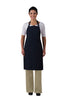 XL No Pocket Butcher Apron Adj Neck