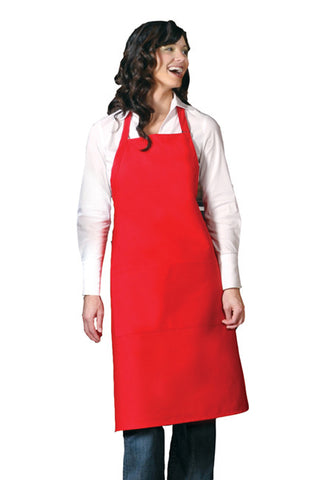 XL Butcher Apron w/ Center Divided Pocket Adj Neck