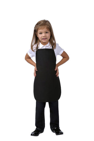 Kids Bib Apron No Pocket Non-Adj Neck