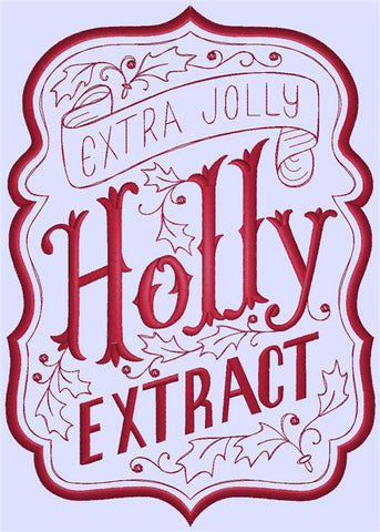Designs - ApotheMerry - Holly Extract