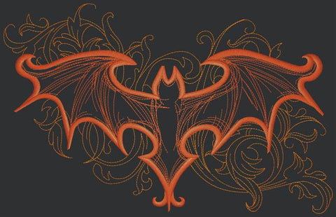 Designs - Bat Swirl