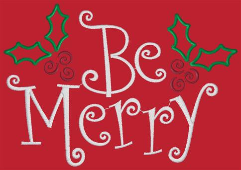 Designs - Be Merry