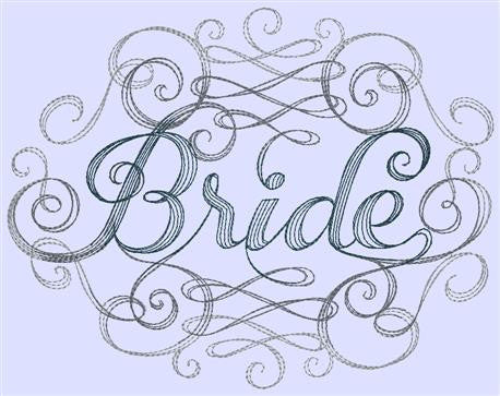 Designs - Bride Swirl