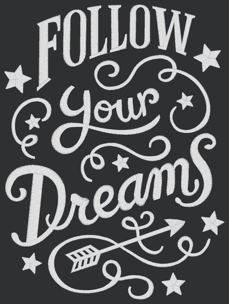Chalkboard - Follow Your Dreams