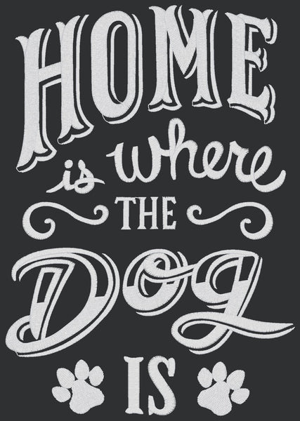 Chalkboard - Home is Dog