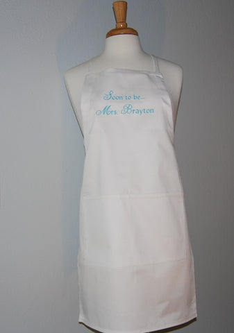 Wedding Apron - Soon to be Mrs....