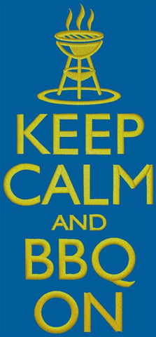 Keep Calm and BBQ On