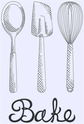 Designs - Bake with Utensils