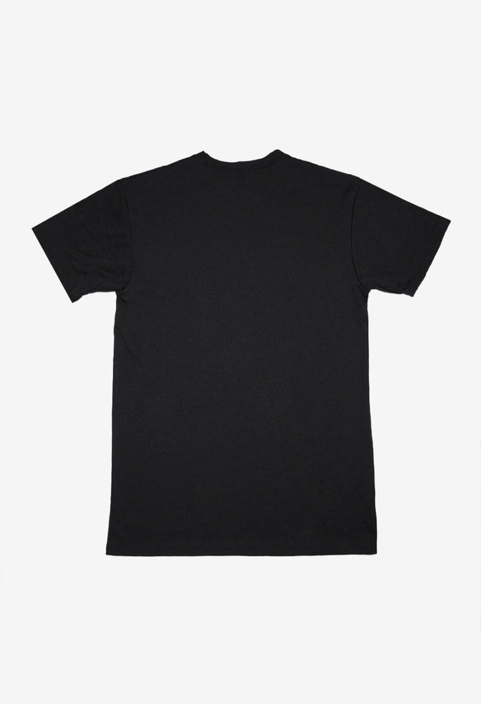FEATHER TEE | BLACK/BLACK , Tees/Shirts - The Escape Movement, The Escape Movement - 2