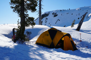 Sierra Snow Camping Weekend