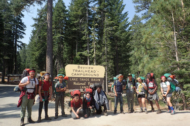 YMCA youth become leaders in Lake Tahoe backcountry!