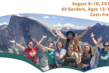 FREE YMCA Youth Yosemite Backpacking Trip!