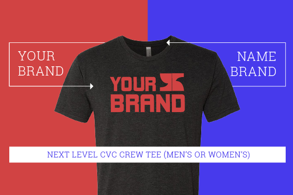 Next Level Tee Shirt Custom Apparel