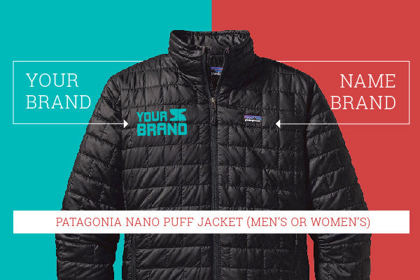 Patagonia Nano Puff Custom Apparel