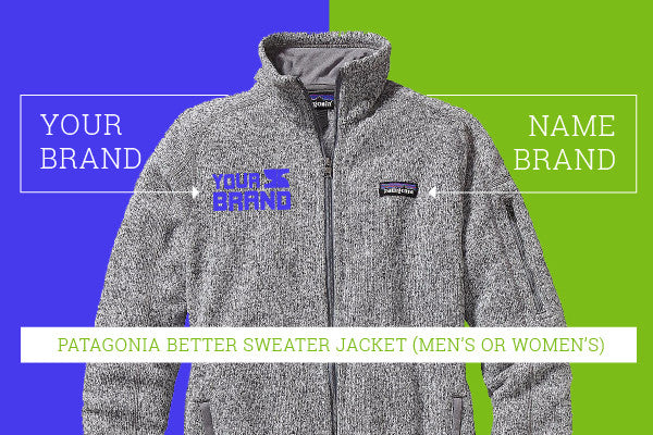 Patagonia Better Sweater Custom Apparel