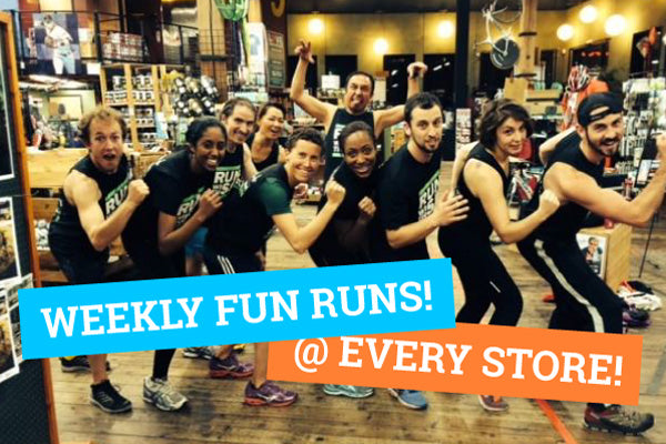 Weekly fun runs at every store!