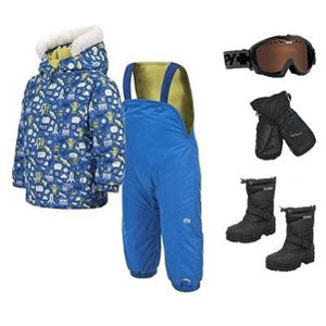 Boys Toddler Snow Apparel Package