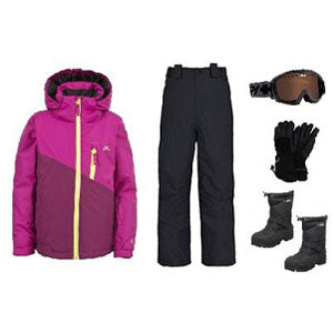 Girls Snow Apparel Package