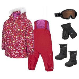 Girls Toddler Snow Apparel Package