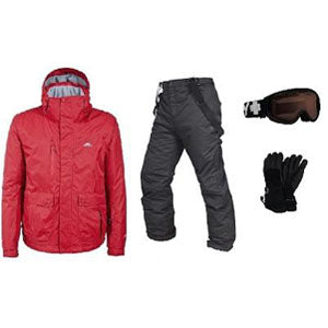 Mens Snow Apparel Package