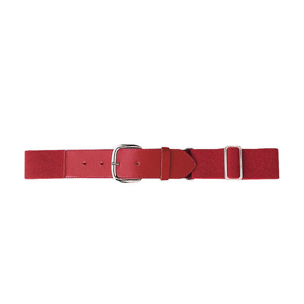 Adult Baseball Belt Red