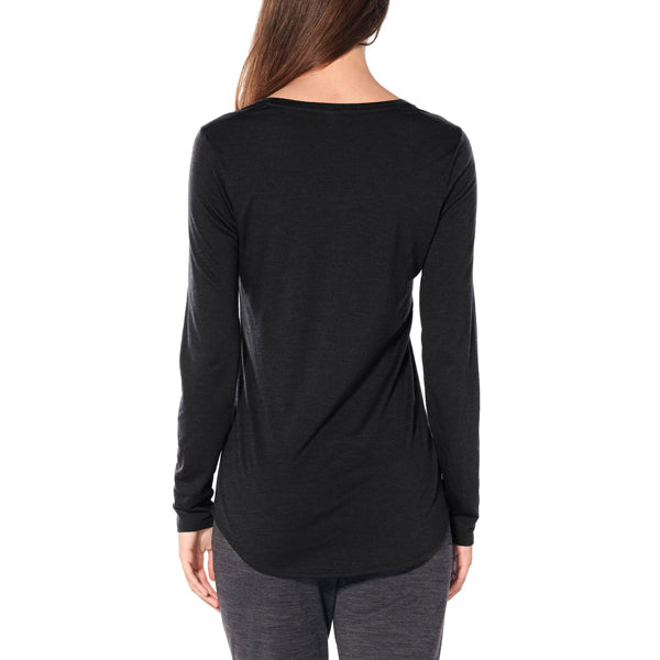 Women's Solace Long Sleeve Scoop alternate view