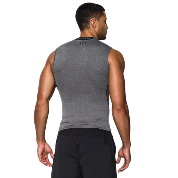 Men's UA HeatGear Armour Sleeveless Compression Shirt alternate view