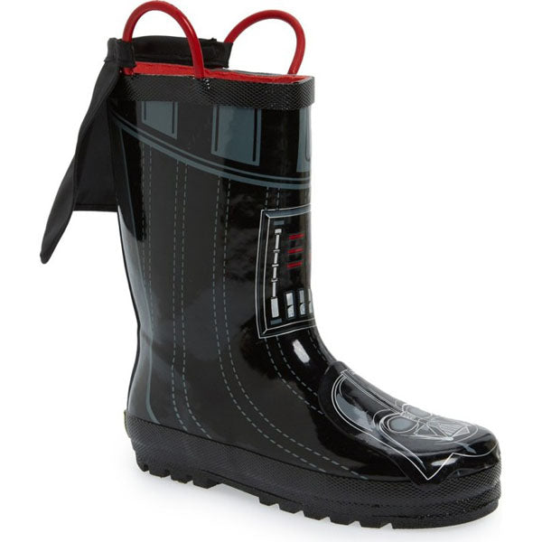 Western Chief Youth Darth Vader Rainboots (5-10)
