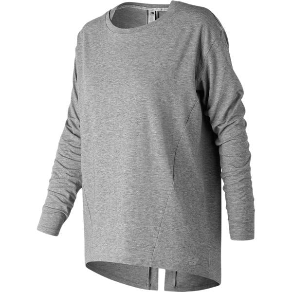New Balance Women's Studio Relaxed Long Sleeve