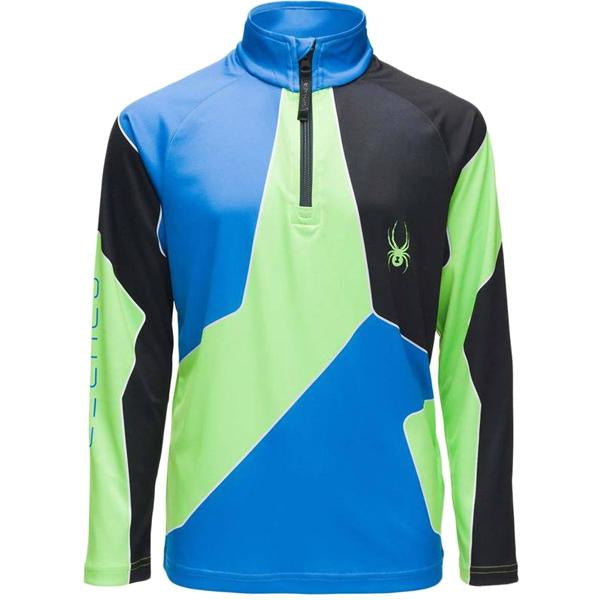 Spyder Boys' Limitless Divide Zip T-Neck