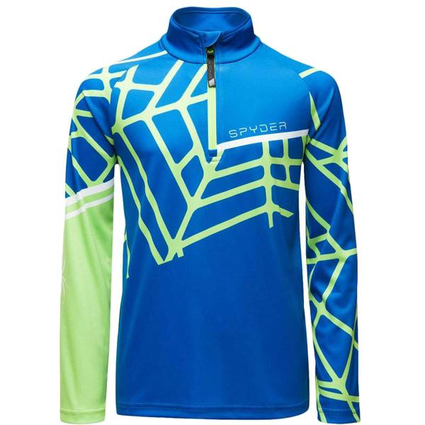 Spyder Boys' Limitless Hideout Zip T-Neck