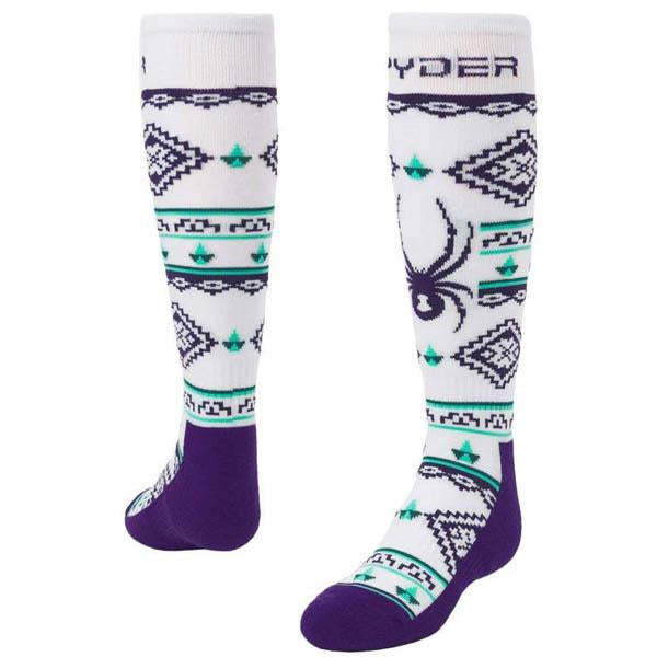 Spyder Girls' Peak Socks