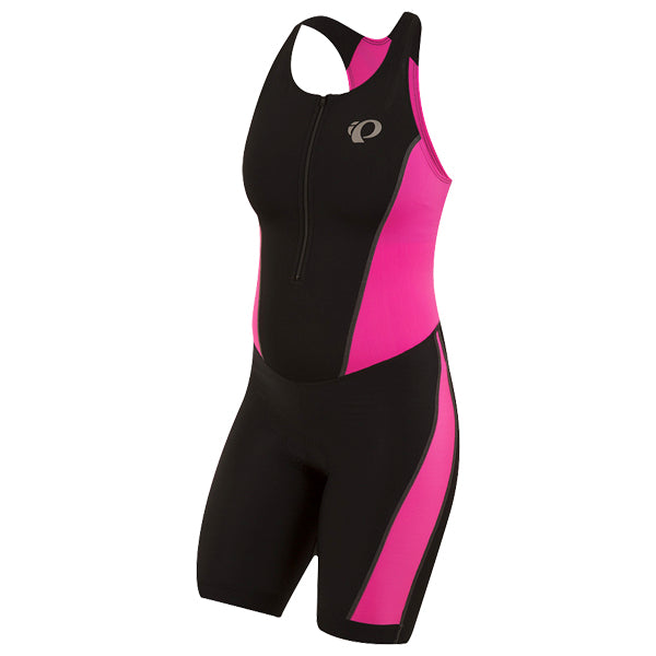 Women's Select Pursuit Tri Suit - Black/Pink